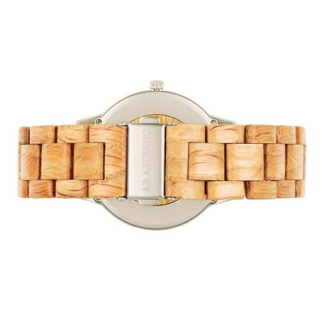 Wine Watch Silver träklocka 42 mm - med personlig gravyr