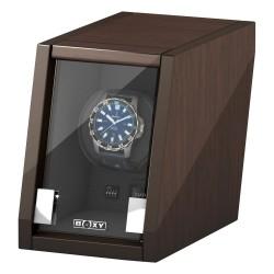 BECO watch winder för 1 klocka - valnött trä