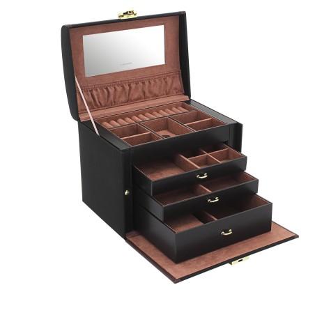 Friedrich stor smyckeskrin med tre lådor för många smycken