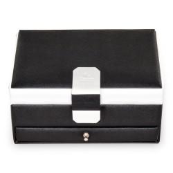 SACHER smyckeskrin svart läder i trendig design