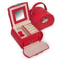 Sacher Smyckeskrin i röd trendig design
