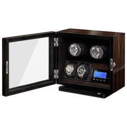 BECO Boxy watch winder för 2 klockor - BLDC motor och LED lys