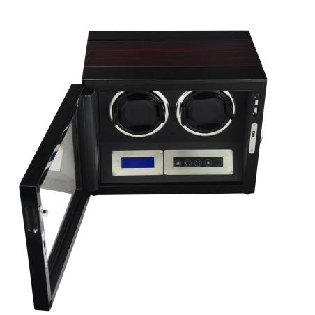 Watch winder för 2 klockor - LCD touch-display och tysta